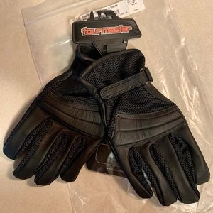 Other - Leather and fabric motorcycle gloves. Small